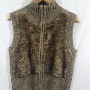 Cabi Faix Alpaca Vest size Medium